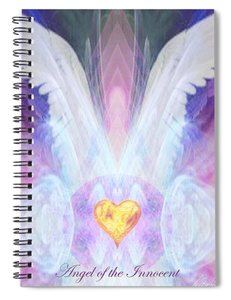 Angel Of The Innocent Spiral Notebook