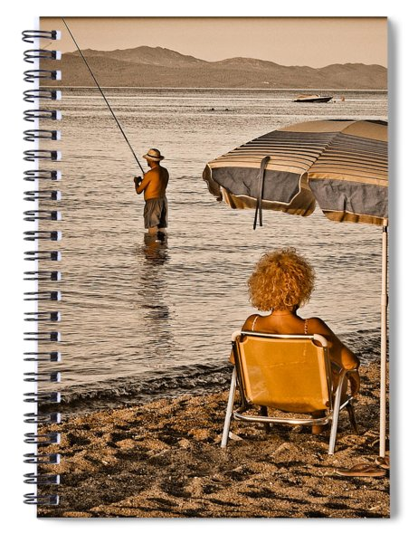 Hanioti, Greece - Another Day In Paradise Spiral Notebook