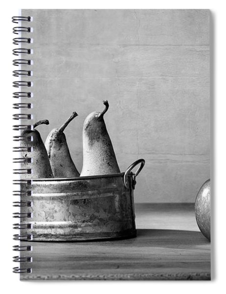 Apple And Pears 02 Spiral Notebook by Nailia Schwarz