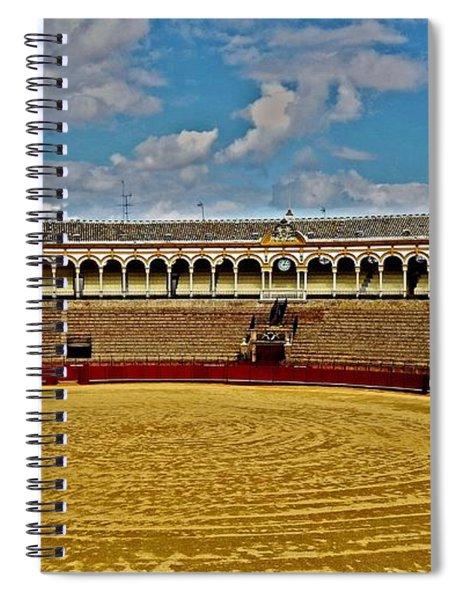 Arena De Toros - Sevilla Spiral Notebook
