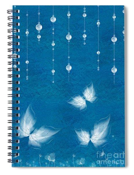 Art En Blanc - S11dt01 Spiral Notebook