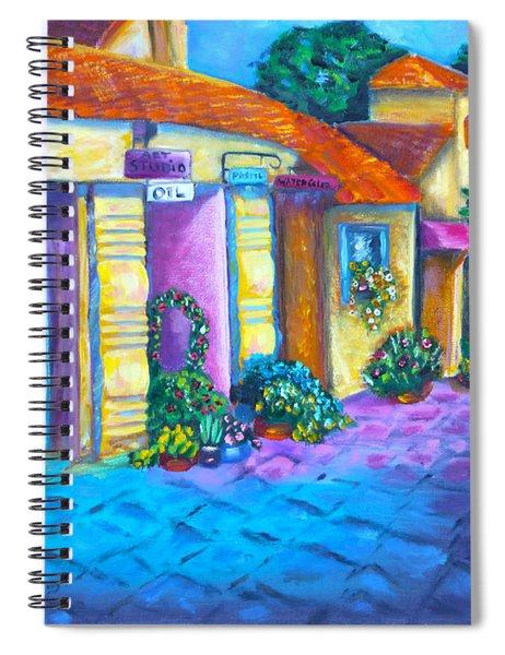 Artist Village Spiral Notebook