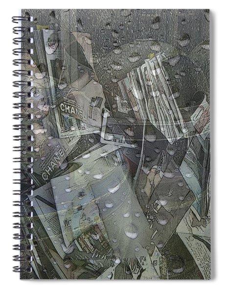Asphalt Series - 5 Spiral Notebook