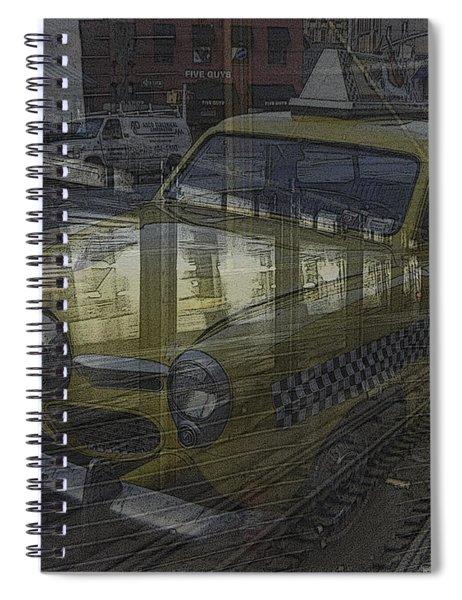 Asphalt Series - 8 Spiral Notebook