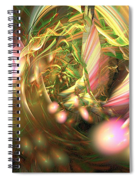 At Dawn - Abstract Art Spiral Notebook