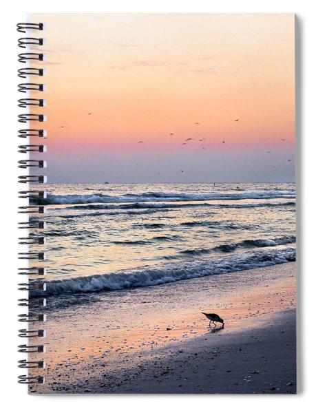 At Sunset Spiral Notebook