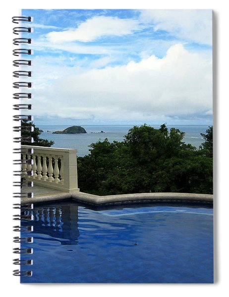 At The Edge Of The Ocean Spiral Notebook