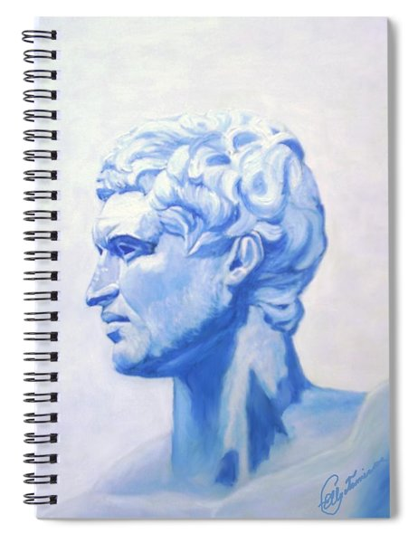 Athenian King Spiral Notebook