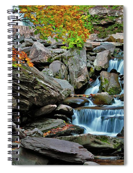 Autumn At Kaaterskill Spiral Notebook