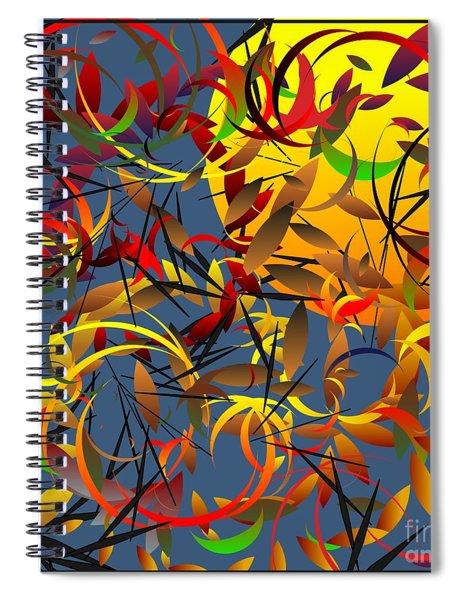 Autumn Wind 2012 Spiral Notebook