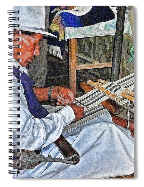 Backstrap Loom - Ecuador Spiral Notebook