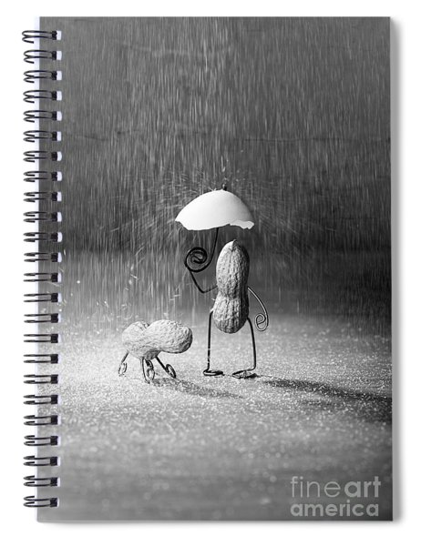 Bad Weather 01 Spiral Notebook