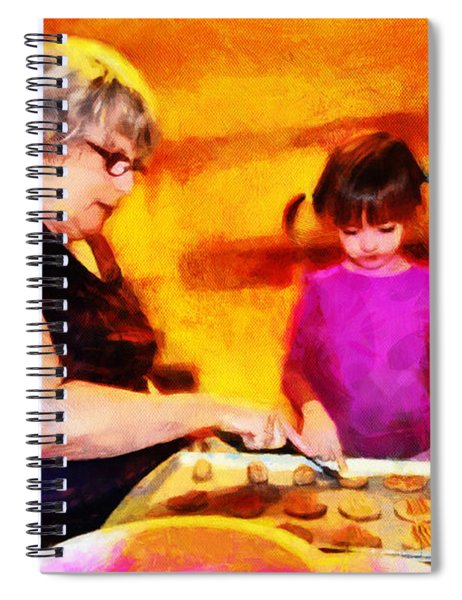 Baking Cookies With Grandma Spiral Notebook