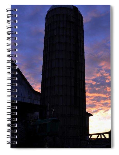 Barnyard Sunrise IIi Spiral Notebook