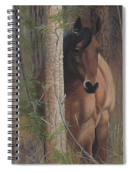 Bashful Spiral Notebook
