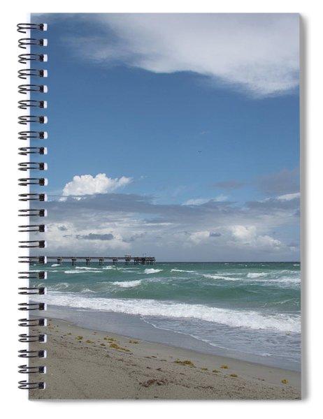 Beatiful Beach Spiral Notebook