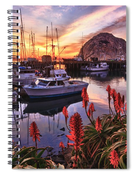 Beautiful Morro Bay Spiral Notebook