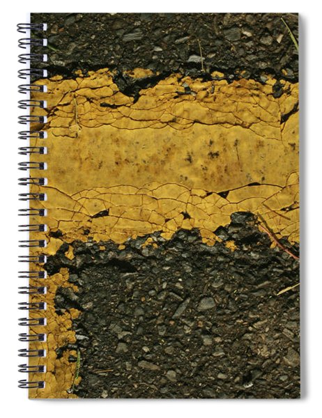 Behind The Yellow Line Spiral Notebook