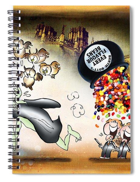 Bertie Bott's Beans Spiral Notebook