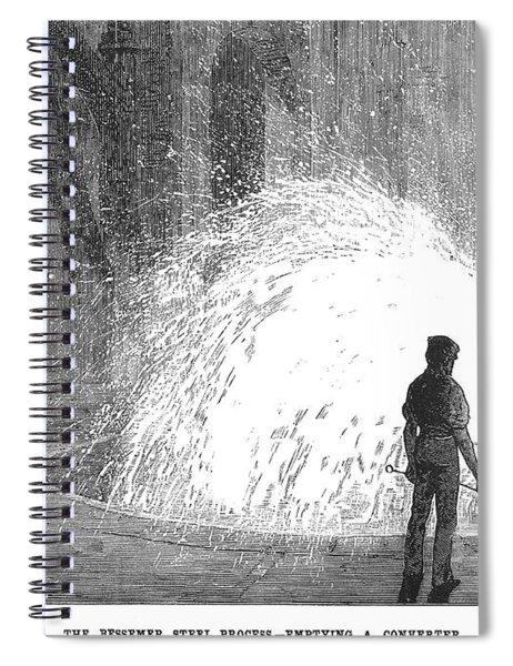 Bessemer Steel, 1875 Spiral Notebook