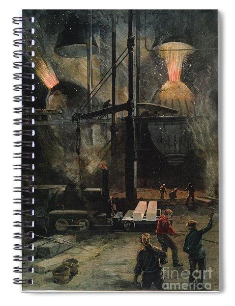 Bessemer Steel Spiral Notebook