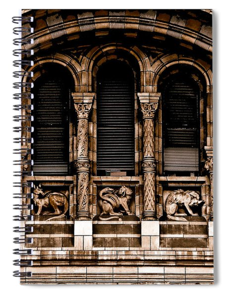 London, England - Bestiary Spiral Notebook