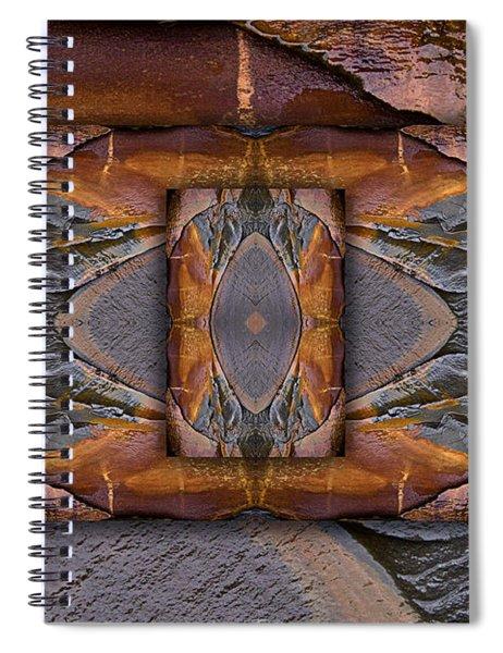 Between Tides Number 6 Spiral Notebook