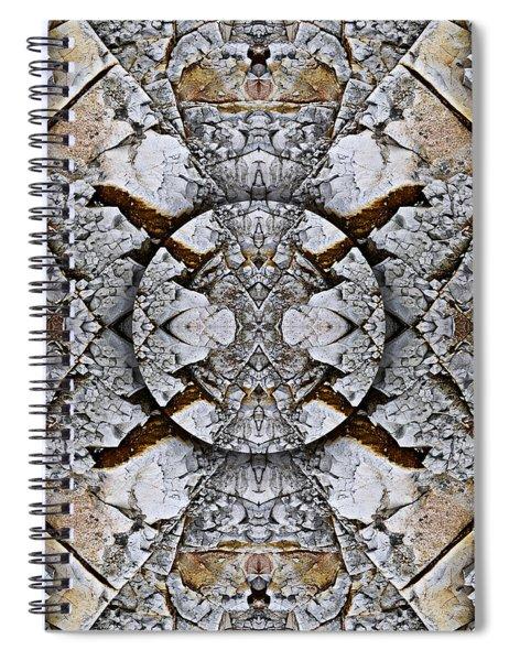 Between Tides Number 8 Square Spiral Notebook