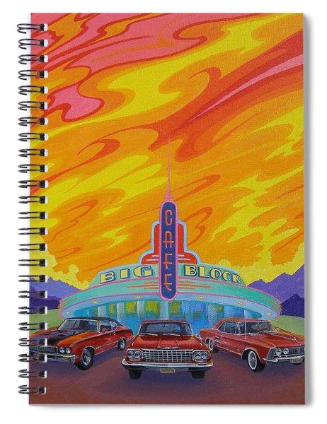 Big Block Cafe Spiral Notebook