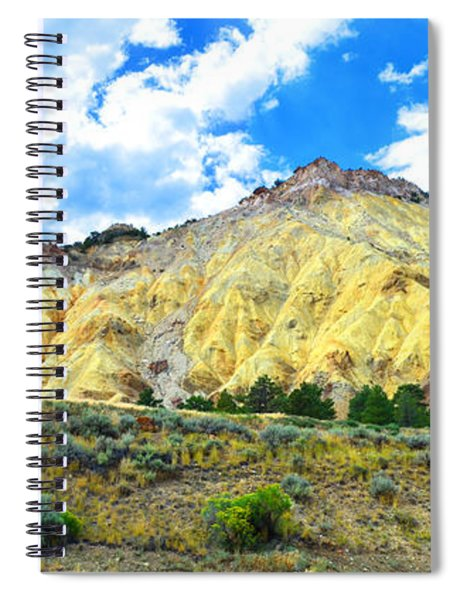Big Rock Candy Mountain - Utah Spiral Notebook