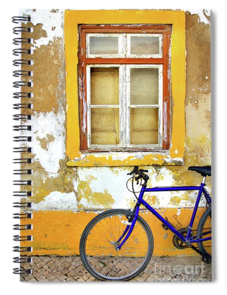 Bike Window Spiral Notebook
