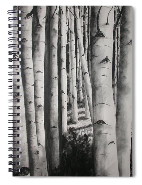 Birch Spiral Notebook