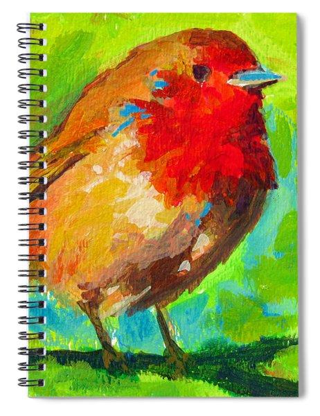 Birdie Bird - Robin Spiral Notebook