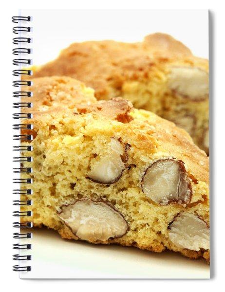 Biscotti   Spiral Notebook