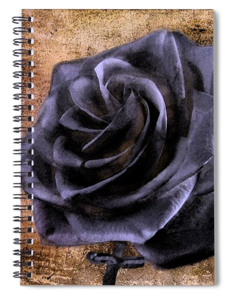 Black Rose Eternal   Spiral Notebook