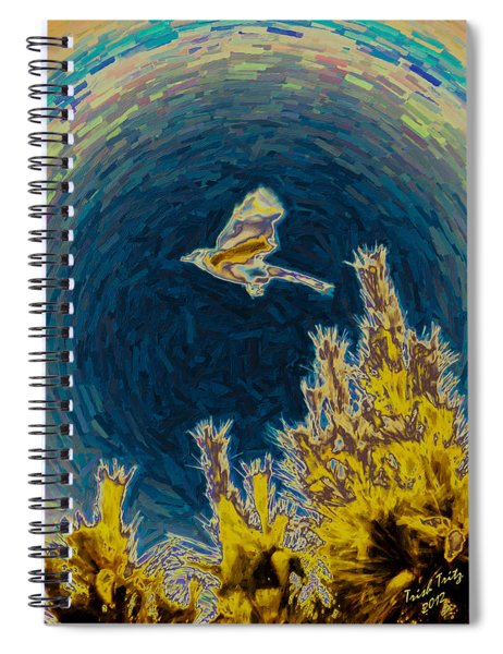 Bluejay Gone Wild Spiral Notebook