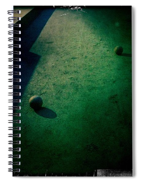 Bocce Ball Court Spiral Notebook