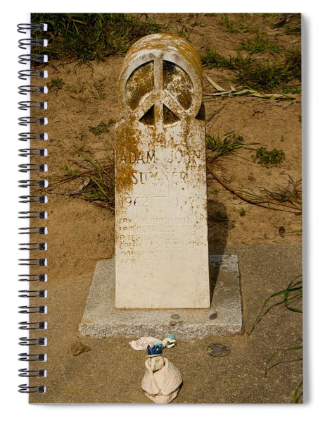 Bodega Bay Cemetery Spiral Notebook