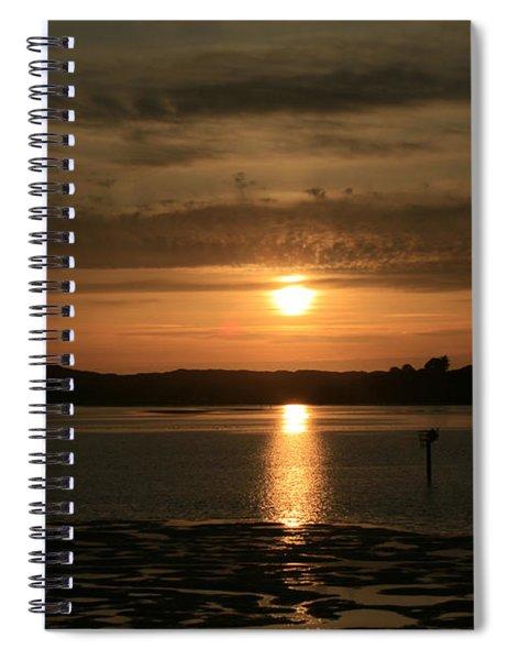 Bodega Bay Sunset II Spiral Notebook