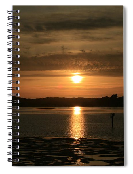 Bodega Bay Sunset II Spiral Notebook