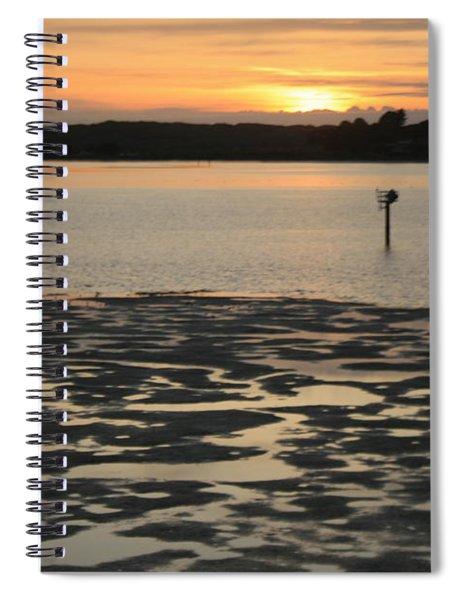 Bodega Bay Sunset Spiral Notebook