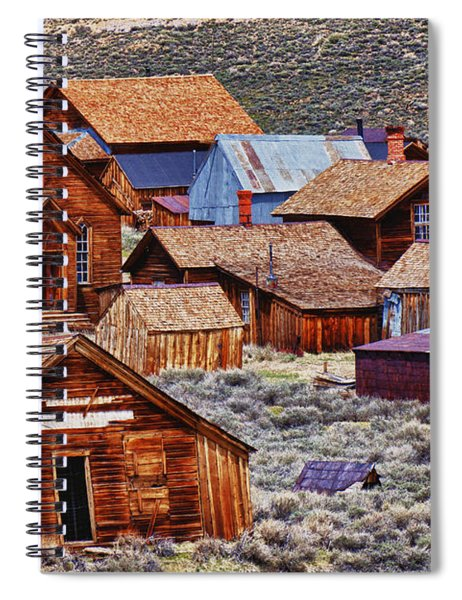 Bodie Ghost Town California Spiral Notebook