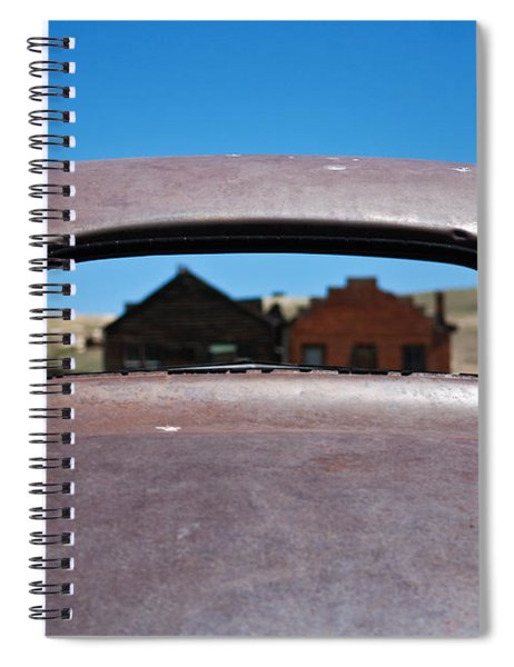 Bodie Ghost Town I - Old West Spiral Notebook