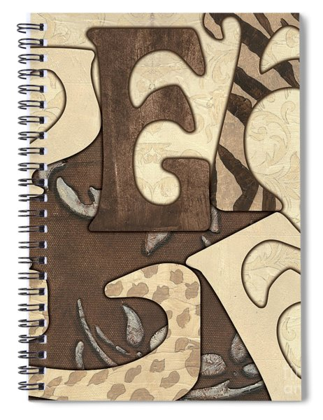 Bohemian Peace Spiral Notebook