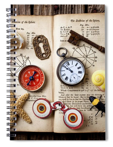 Book Of Mystery Spiral Notebook