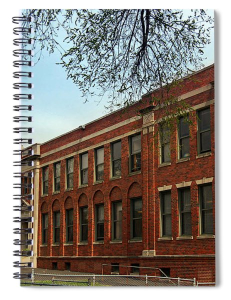 Border Star Elementary School Kansas City Missouri Spiral Notebook