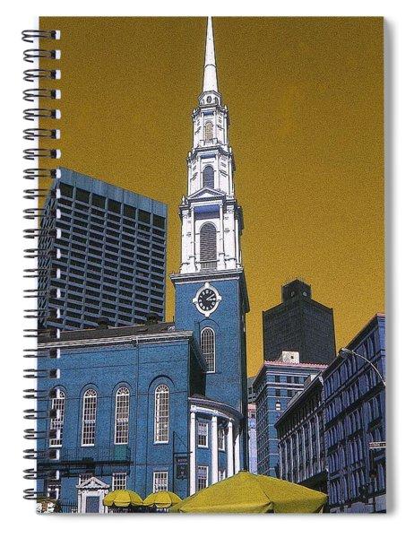 Boston Freedom 76 Spiral Notebook