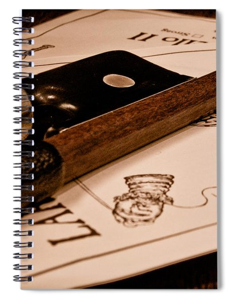 Bow Strings Spiral Notebook
