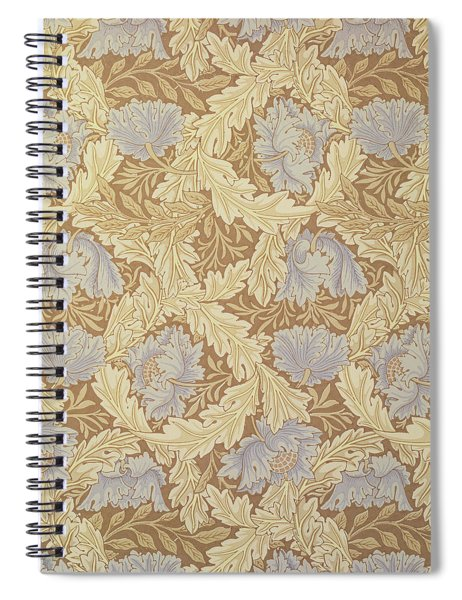 Bower Wallpaper Design Spiral Notebook