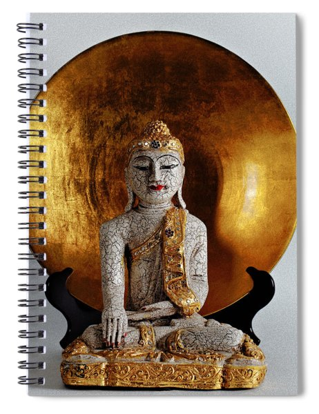 Buddha Girl Spiral Notebook